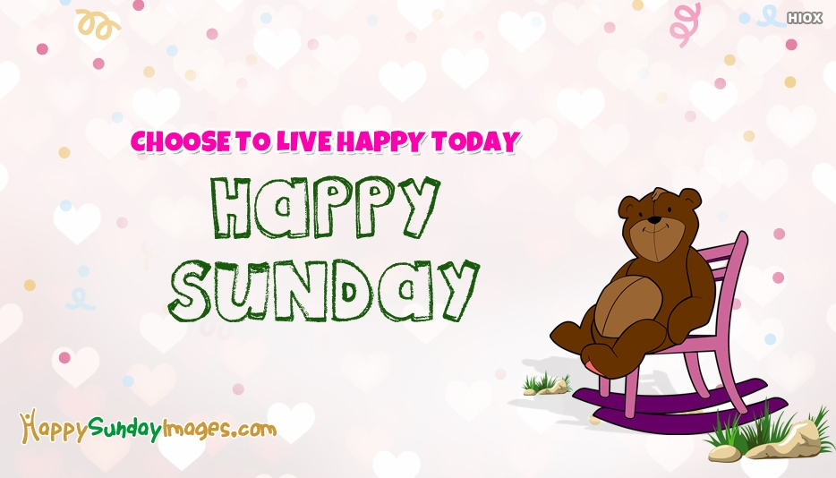 Happy Sunday Thoughts Images