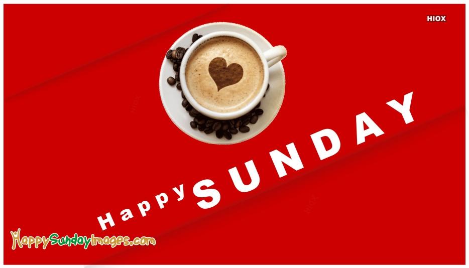 Happy Sunday Coffee Image