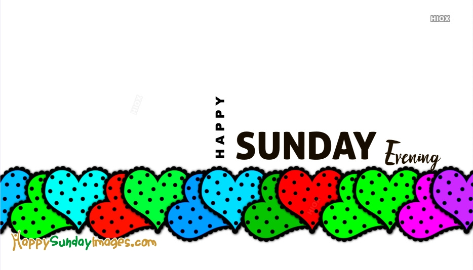 Happy Sunday Heart Images