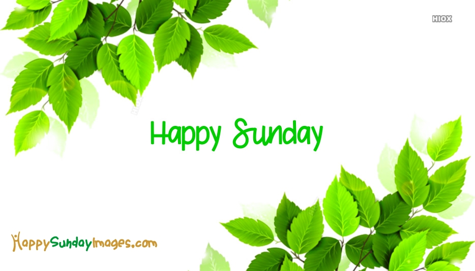 Happy Sunday Facebook