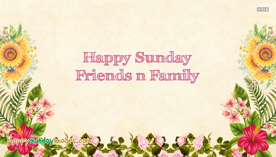 Happy Sunday Images for Family