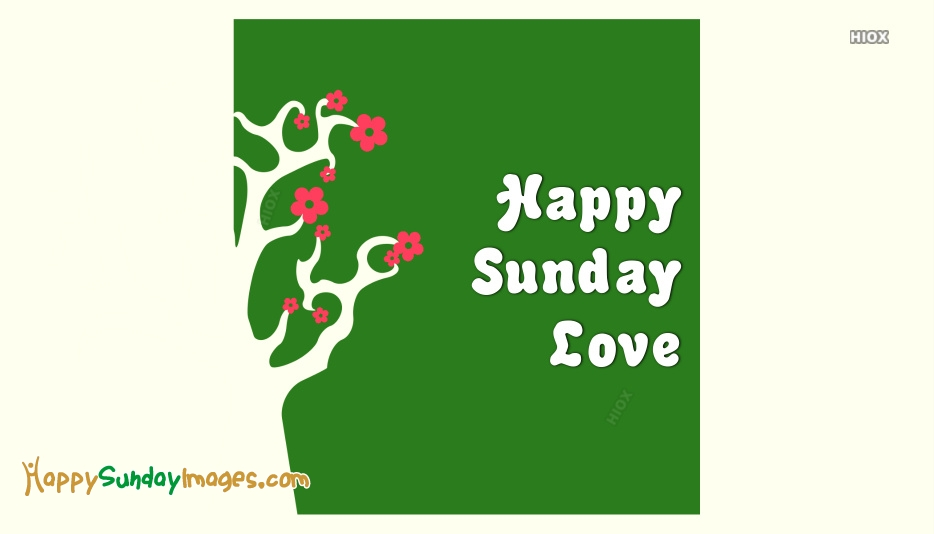 Happy Sunday Images for Love
