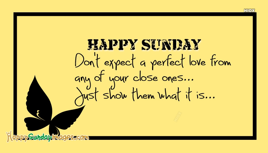 Happy Sunday Love Message