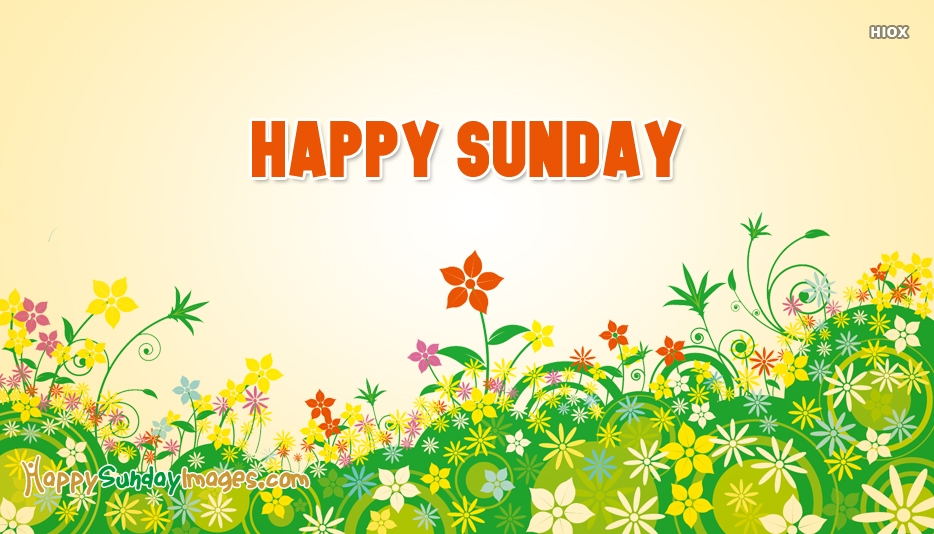 Happy Sunday New Image