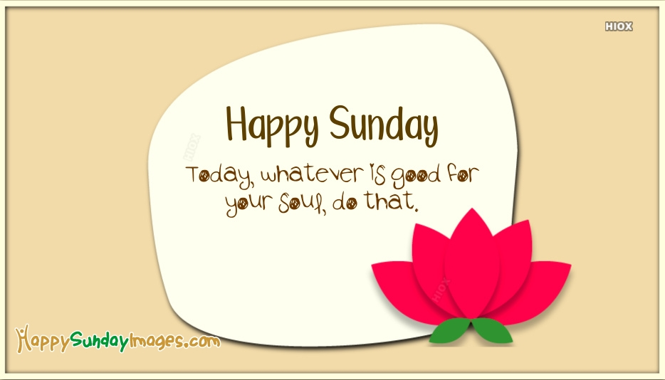 Happy Sunday Images for Positive