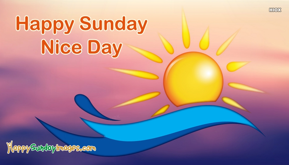 Happy Sunday Nice Images