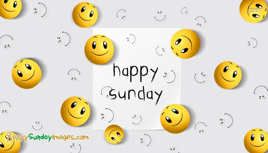 Happy Sunday Nice Images