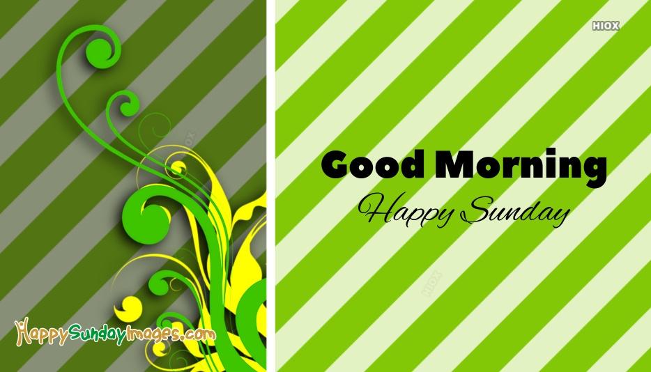 Happy Sunday On Facebook