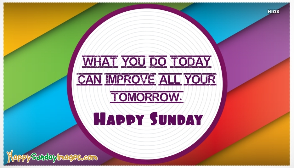 Happy Sunday Messages Images, Pictures