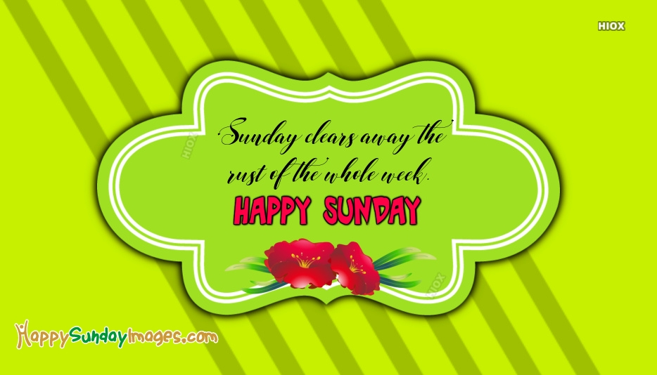 Happy Sunday Morning Pictures, Images