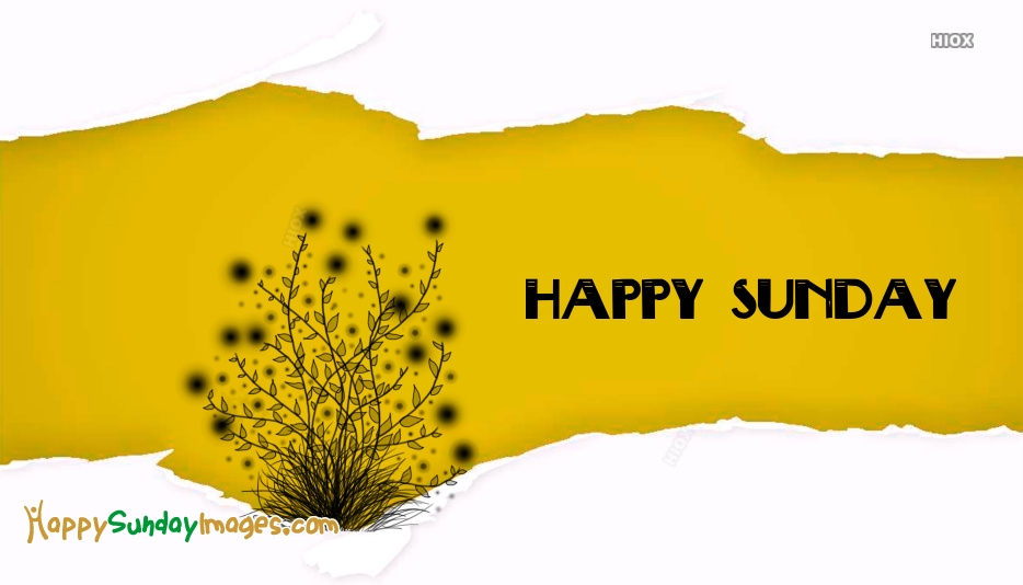 Happy Sunday Wishes Pics