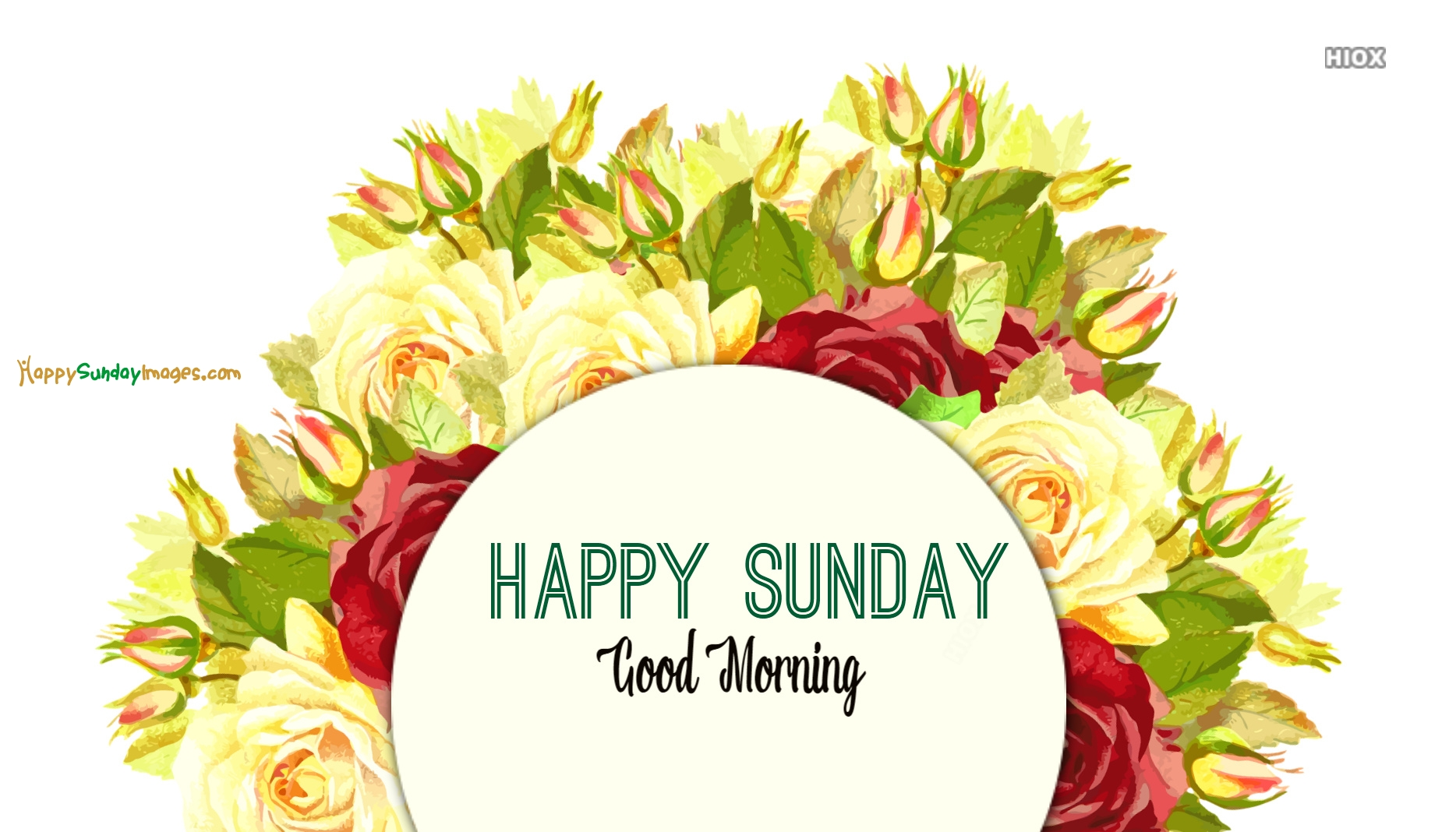 Happy Sunday With Good Morning