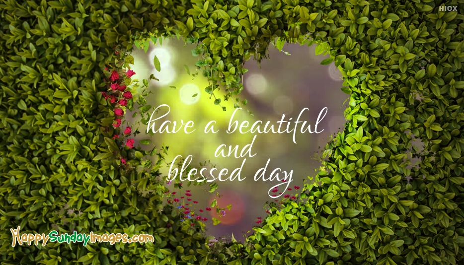 Have A Beautiful Blessed Day Images Archidev
