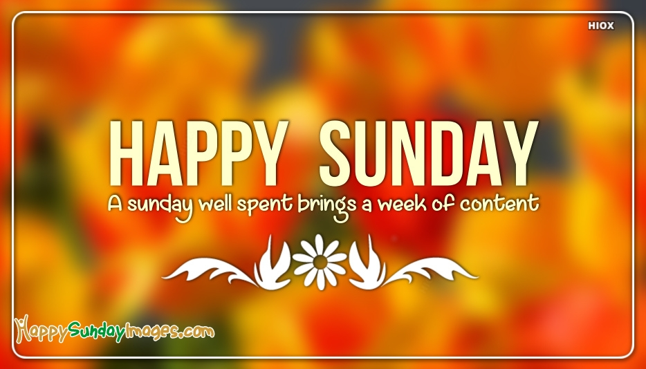 Sunday Messages Images - Tag