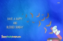 A Happy And Blessed Sunday