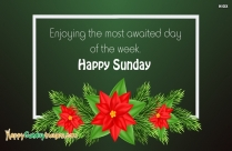 Enjoying The Most Awaited Day Of The Week. Happy Sunday
