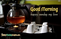 Good Morning And Happy Sunday My