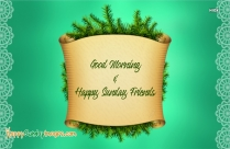 Good Morning N Happy Sunday Image