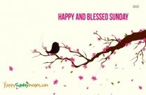 Happy Sunday Thank You God