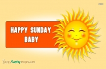 Happy Sunday Sunshine Images