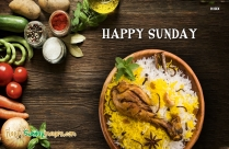 Happy Sunday Biryani