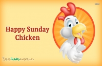 Happy Sunday Chicken Images