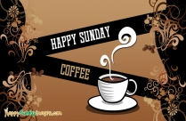 Happy Sunday Coffee