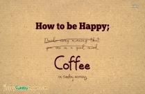 Happy Sunday Coffee Quote