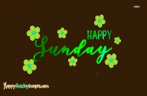 Happy Sunday Hd Beautiful Wallpaper