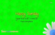 Happy Sunday Quote Facebook
