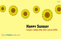 Happy Sunday Flower Images