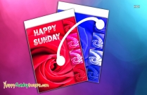 Happy Sunday Wishes Cards
