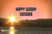 Good Morning Wish U Happy Sunday