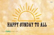 Happy Sunday All