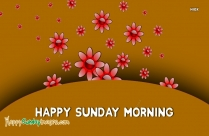Images Of Happy Sunday Morning
